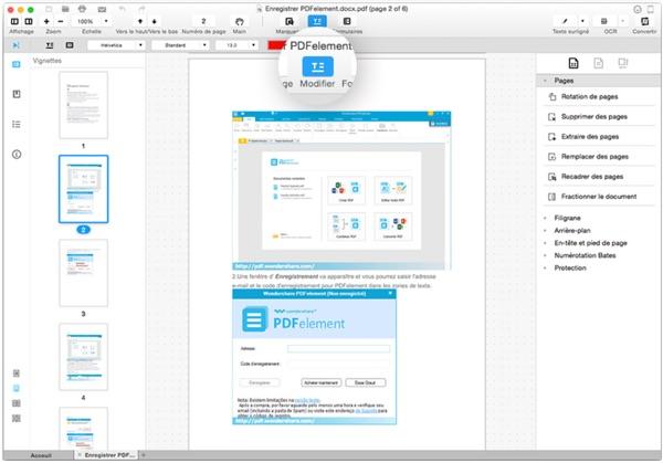 modifier pdf avec wondershare pdfelement-infoidevice