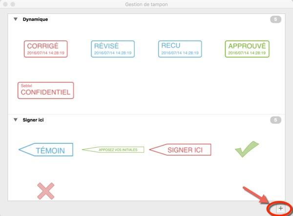 tampon et signature pdfelement mac-infoidevice