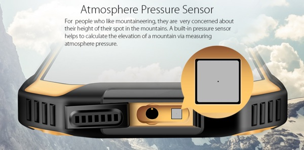 capteur pression atmospherique blackview bv6000-infoidevice