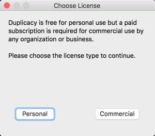 duplicacy mac-infoidevice