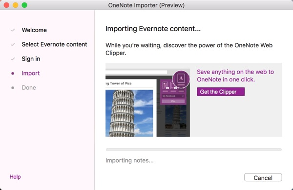 import evernote to onenote-infoidevice