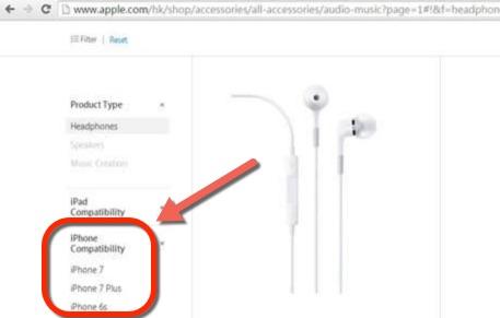 écouteurs compatibles iphone 7-infoidevice