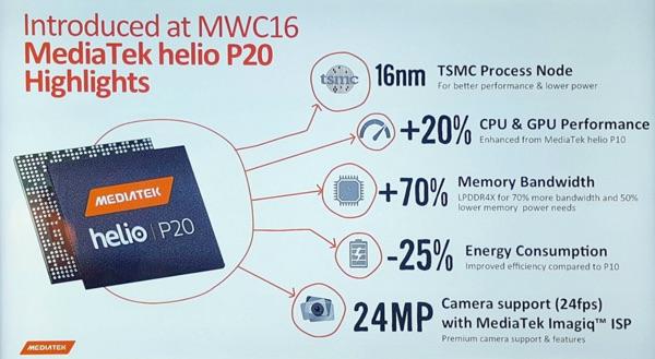 processeur helio p20 vernee mars-infoidevice