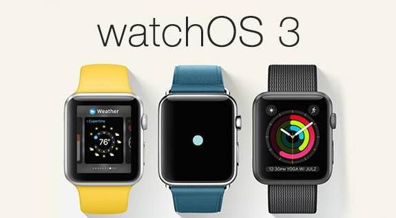 système d'exploitation watchOS 3