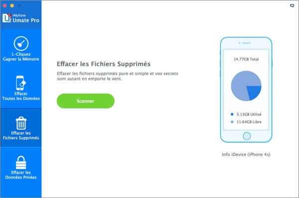 effacer-les-fichiers-supprimes-imyfone-umate-pro-infoidevice