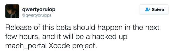 jailbreak ios 10 beta xcode-infoidevice