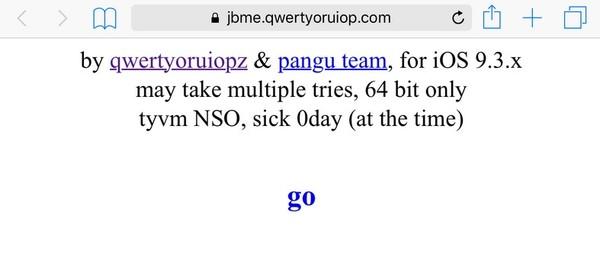 jailbreakme ios 9.3.3 qwertyoruiop pangu team-infoidevice