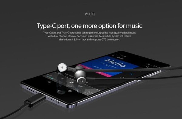 port usb-c prise jack vernee apollo-infoidevice