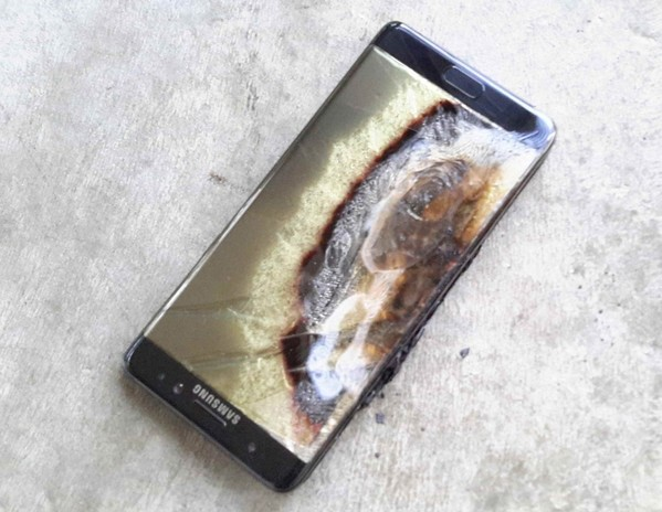 explosion samsung galaxy note 7-infoidevice