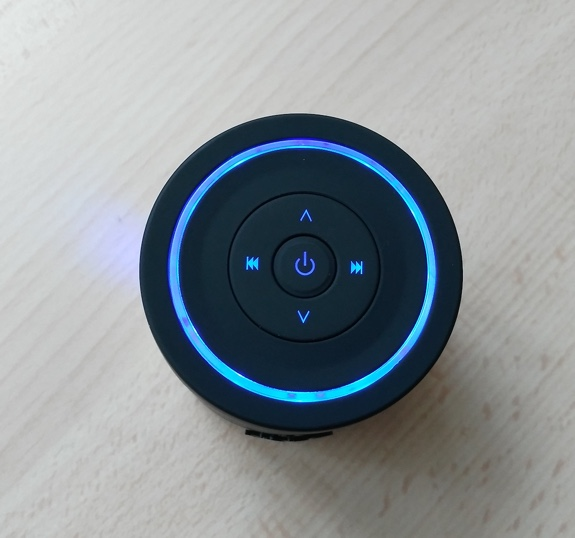 boutons fonctions enceinte bluetooth veho 360 m4-infoidevice