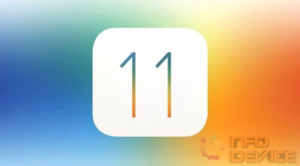 logo iOS 11 infoidevice