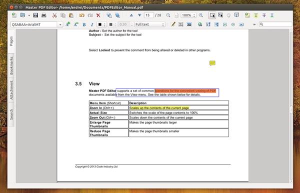master pdf editor linux