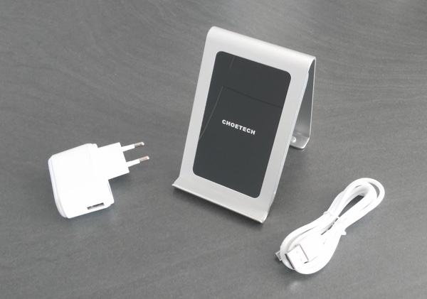 test chargeur qi choetech infoidevice