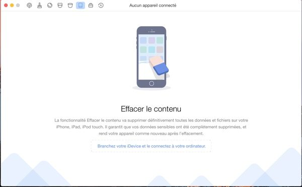 effacer contenu iphone donnees privees