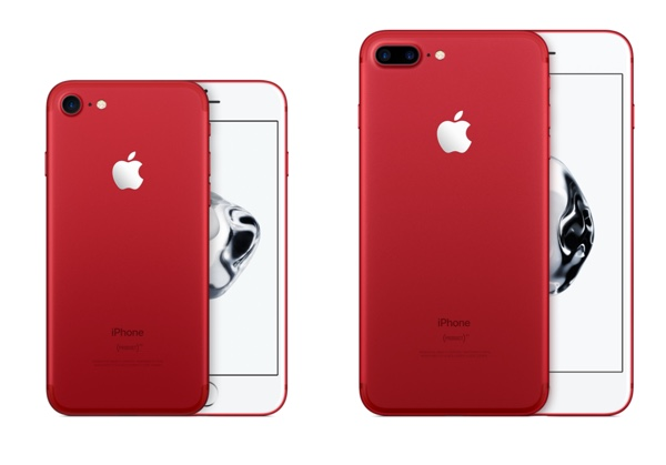 iphone 7 et iphone 7 plus red edition infoidevice