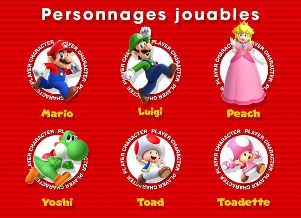 personnages jouables super mario run infoidevice