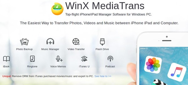 supprimer drm itunes winx mediatrans infoidevice infoidevice