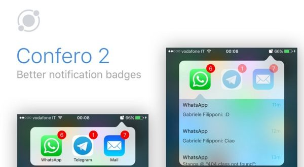 confero 2 gestionnaire de badges de notifications ios 10 infoidevice