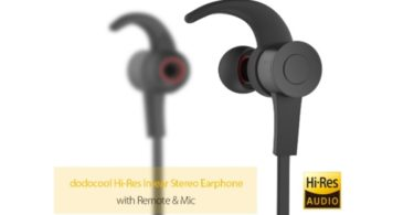 ecouteur dodocool intra-auriculaire hi-res audio infoidevice