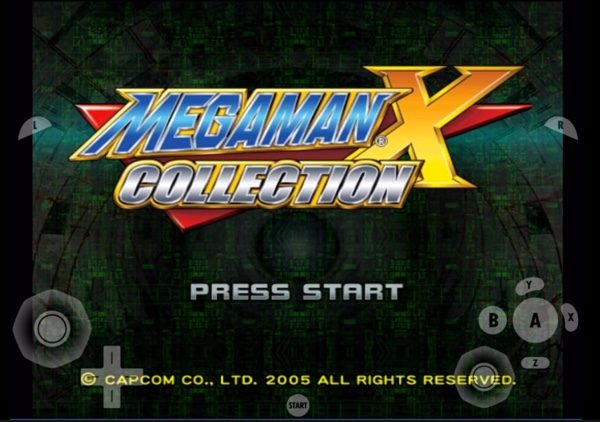 megamanx sur iphone avec emulateur gc4ios infoidevice