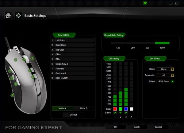 personnalisation souris gamer aukey infoidevice