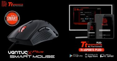 avis tt esports souris ventus x plus smart gaming infoidevice