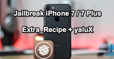 extra recipe + yalux jailbreak iphone 7 infoidevice