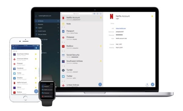 gestionnaire mot de passe msecure alternative 1password infoidevice