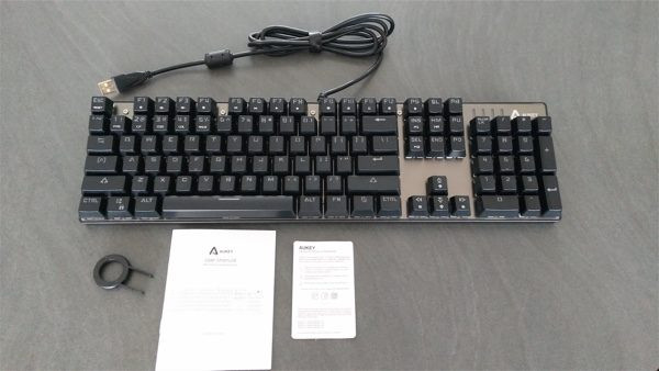 test clavier gamer aukey km-g3 infoidevice