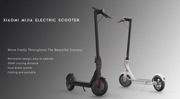 vente flash xiaomi mijia electric scooter