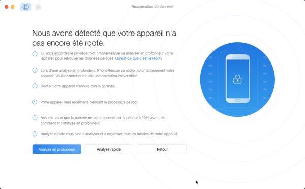 analyse profonde phonerescue android infoidevice