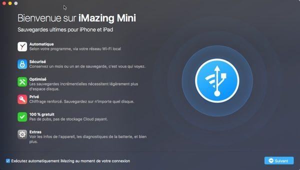 logiciel imazing mini macos infoidevice