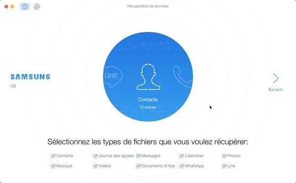 recuperation de donnees phonerescue samsung infoidevice