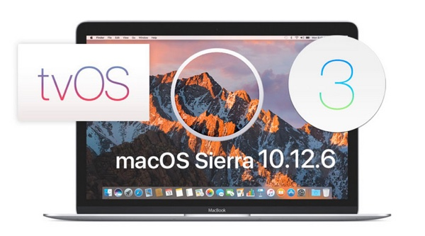 télécharger la bêta 3 iOS 10.3.3 macOS 10.12.6 watchOS 3.2.3 tvOS 10.2.2