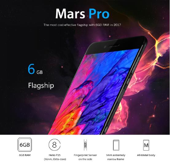 caracteristiques vernee mars pro flagship killer du oneplus 3t infoidevice