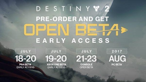 date open beta destiny 2 infoidevice