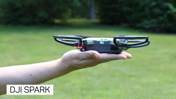 dji spark drone intelligent infoidevice