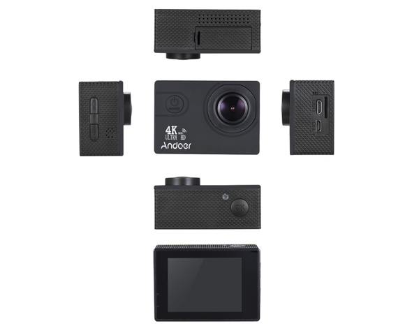 revue camera action andoer 4k infoidevice