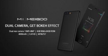 revue smartphone meiigoo m1 infoidevice