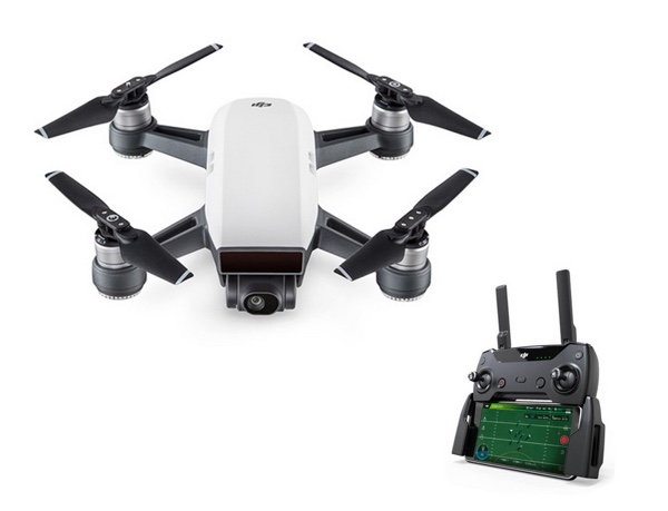 telecommande dji spark drone intelligent infoidevice