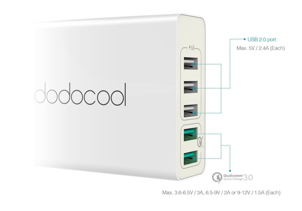 test station de charge dodocool da85 infoidevice