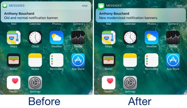 tweak modern modifie notifications ios infoidevice