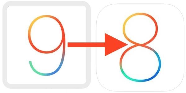 downgrade ios 9 vers ios 8