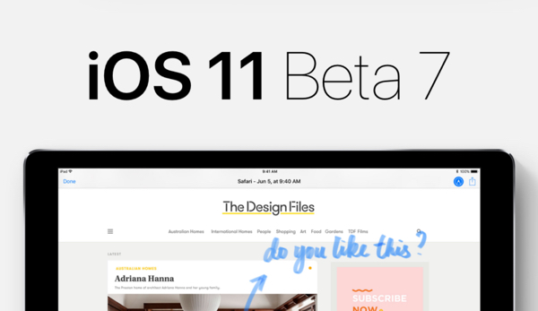 ios 11 beta 7 infoidevice