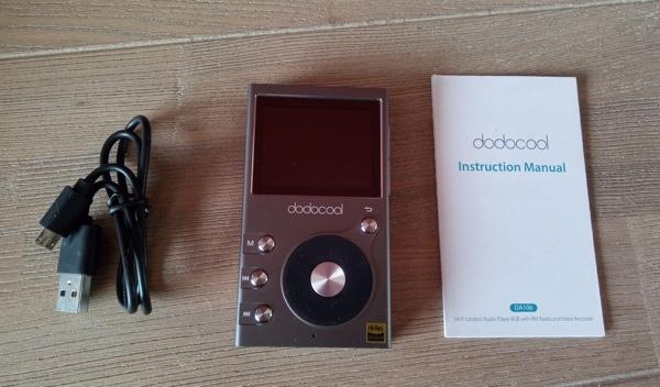 package lecteur audio hi-res dodocool da106 infoidevice