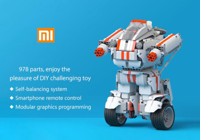 bon plan robot xiaomi mitu diy builder