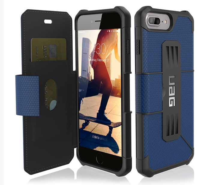 coque iphone plus uag metropolis portefeuille