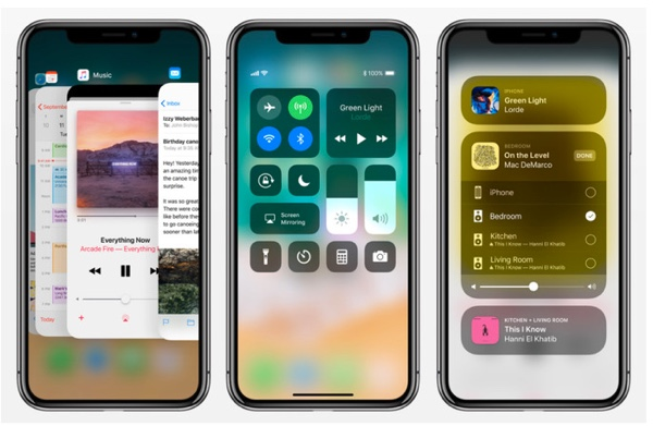 interface logicielle iphone x apple infoidevice