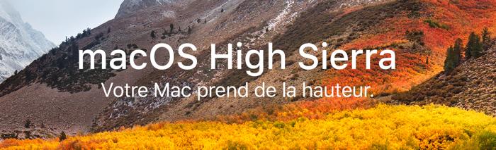 macos high sierra votre mac prend de la hauteur infoidevice