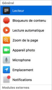 nouvelles fonction navigateur safari 11 infoidevice